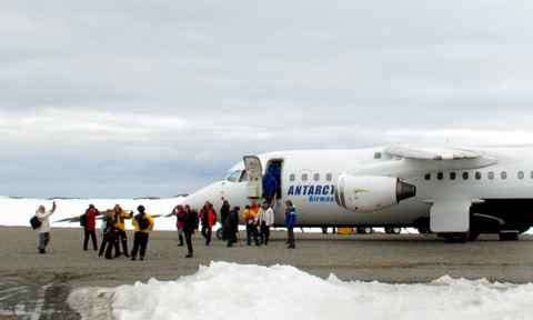 Flights to Antarctica