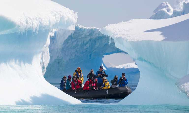 Express Tour of Antarctica