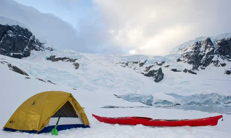 Active Antarctica: Ski, Snowshoe & Kayak