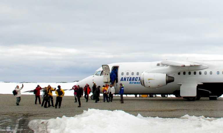 Flights to Antarctica